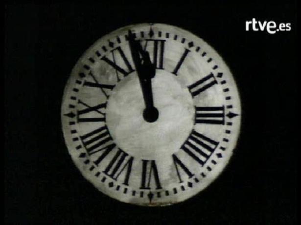 Campanades de cap d'any de 1962 (TVE)