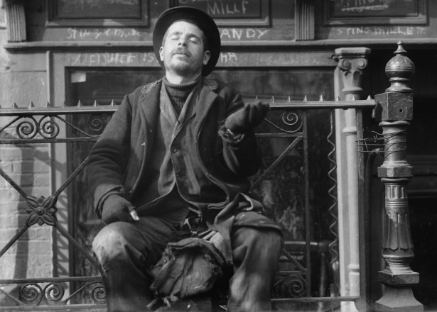 beggar-new-york-city